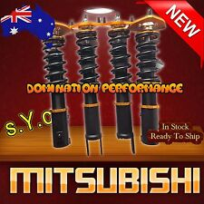 Mitsubishi Lancer 08-up Coilover Kit - SYC Fully Adjustable F+R Suspensions