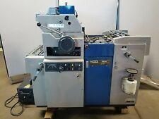 Ryobi 500n Offset Printing Press With Crestline Dampening System