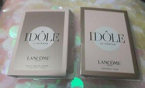 Lancome Idole Le Parfum  and intense Spray Sample Size 1.2ml ×2 -- Brand New