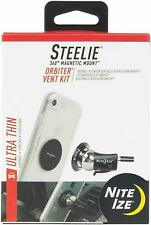 Nite Ize Steelie Orbiter Vent Mount Kit - Black Car Travel NEW
