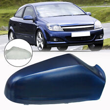 For Vauxhall Astra H 2005-2009 Wing Mirror Cover Painted Blue O/S Driver Right