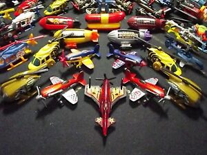 #66 = *Hot Wheels* Helicopter Jet Plane Airship Skateboard Train Parts +Oddities