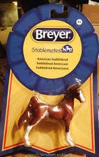 Breyer Horse Models New Chestnut Paint Stablemate American Saddlebred