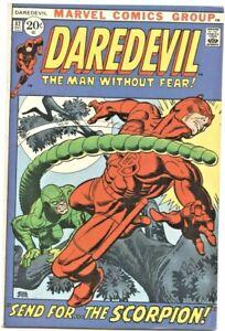 Marvel Comics: Daredevil #82 (1st Series)  VF