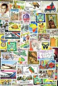 Mali 500 Stamps Different