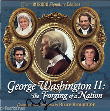 GEORGE WASHINGTON II Bruce Broughton INTRADA Ltd CD Signed AUTOGRAPHED Sold Out!