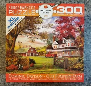 OLD PUMPKIN FARM 300 extra large piece puzzle Eurographics COMPLETE