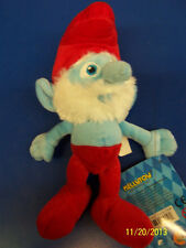 "The Smurfs 2 Movie Smurf Gift Collectible Stuffed Toy 8"" Plush Doll - Papa Smurf"