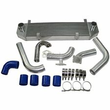 Bar & Plate Intercooler Kit + BOV For 1990-1994 1G DSM Eclipse Talon Turbo 4G63