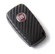 Fiat Bravo Grande Punto Stilo Abarth carbon fiber style key sticker