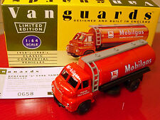 LLEDO VANGUARDS 7005:  MOBILGAS: BEDFORD TANKER: : MINT BOXED 1/64 MODEL
