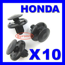 HONDA CIVIC Crea accordo wheel Arch interno Fodera Paraurti Splashguard Trim Clip 10