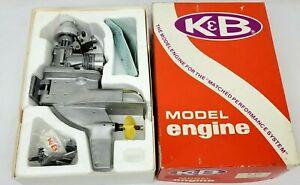 NEW old STOCK  K&B No. 8701 Marine 7.5cc Outboard  Boat Motor Engine - Nitro R/C