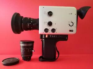 Vintage Design // Braun Nizo 481 macro. Super 8 Movie Camera & Original Case
