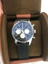 Polished Breitling Transocean Chronograph Steel Automatic Watch AB0152 Bf302532