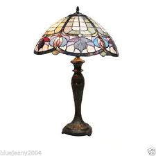 Glass Art Deco Style Desk Lamps