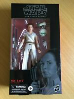STAR WARS THE BLACK SERIES ROS REY & D-O 6 INCH ACTION FIGURE WAVE 1 HASBRO