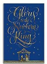 Hallmark Holiday Boxed Cards with Envelopes, Newborn King