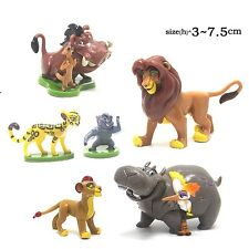 The Lion King Lion Guard Action Figure Playset Simba Kion Timon Pumbaa 6pcs UK