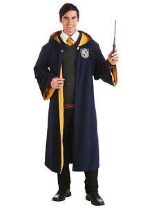 Vintage Harry Potter Hogwarts Hufflepuff Adult Robe
