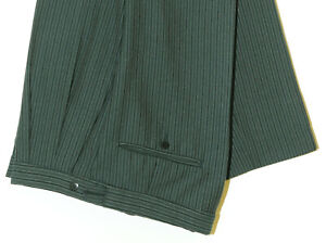 HALLOWEEN FANCY DRESS JOKER STRIPED GREEN TROUSER BARGAIN PRICE GREEN GOBLIN