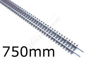 T Gauge 1:450 Scale Set of 5 Flexible Grey Tracks 750mm R-037-2