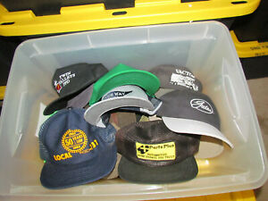 LOT of SNAPBACK + HATS! 30++ CAPS> Load 2 LOT 1 MANY TRUCKER MIX / FARM / MEN