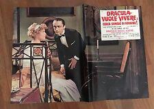 FOTOBUSTA,Dracula  vuole vivere cerca sangue di vergine.Andy Warhol,Dallesandro