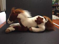"Breyer #4558 Patches Chestnut Pinto Filly Plush Stuffed Animal 18"""