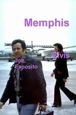 ELVIS PRESLEY JOE ESPOSITO AT MEMPHIS AIRPORT 3/18/74 PHOTO CANDID