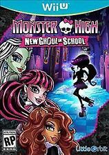 Nintendo Wii U Monster High: New Ghoul in School Game BRAND NEW SEALED