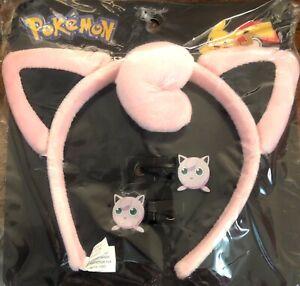 Pokeman Headband And Snap Clip Set Dress Up Halloween Cosplay