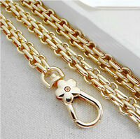 New 20-120 CM Light Golden Watch Chain For Handbag Or Strapping Bag A22#