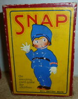 vintage card game Snap