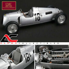 CMC M-161 1:18 1936 AUTO UNION TYPE C #18 EIFEL RACE BERND ROSEMEYER LTD 1500PCS