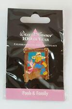 Disney Store JAPAN Pin Walt 100th Legacy Pooh & Family Farmer Piglet