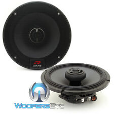 "ALPINE R-S65 6.5"" 300W LOUD TYPE R COAXIAL 2-WAY SILK TWEETERS CAR SPEAKERS NEW"