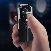 Electronic Flameless Lighter USB Rechargeable Lighter Smoking Tools - UK