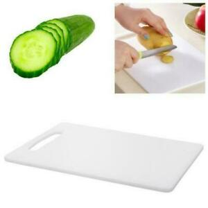 White Large Quality Chopping Board Food Grade Plastic Kitchen Cutting Worktop