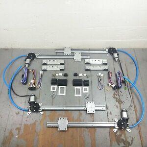 Desoto Mopar Flat Glass 4-Door Power Window Motor Conversion + Switches/ Wire