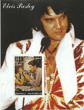 ELVIS PRESLEY - STAMP SHEET WITH 1 STAMP FROM SOMALI REPUBLIC