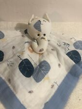 Aden & Anais Elephant Lovey with Clouds Muslin Organic
