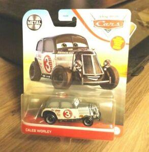 DISNEY PIXAR CARS 2021 CALEB WORLEY NICE!!