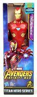 Marvel Avengers Infinity War Titan Hero Series Iron Man Figure New Hasbro 12in