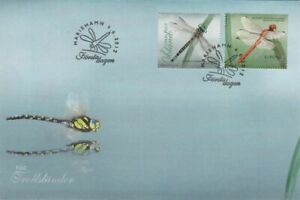 Aland Insects Dragonflies Aland Island Finland Mint FDC 2012