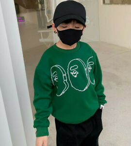 2022 Kids Boy Girl Animal Pullover Thicken Sweatershirt Hoodies Jacket Coat