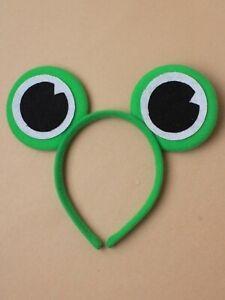New Green Frog Eyes Headband Unisex Dressing Up Fancy Dress Costume Accessory UK