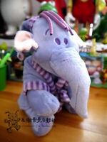 "10""/25cm Heffalump Winnie the Pooh Lumpy Purple Elephant Plush Stuffed Doll Toys"