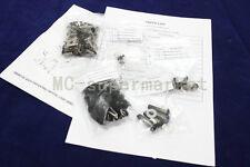 BLACK COMPLETE FAIRING BOLTS FASTENERS Clips SCREWS KIT SUZUKI Hayabusa 99-07
