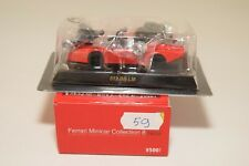 V 1:64 59 KYOSHO COLLECTION 8 NEO FERRARI 512 BB LM RED MINT BOXED